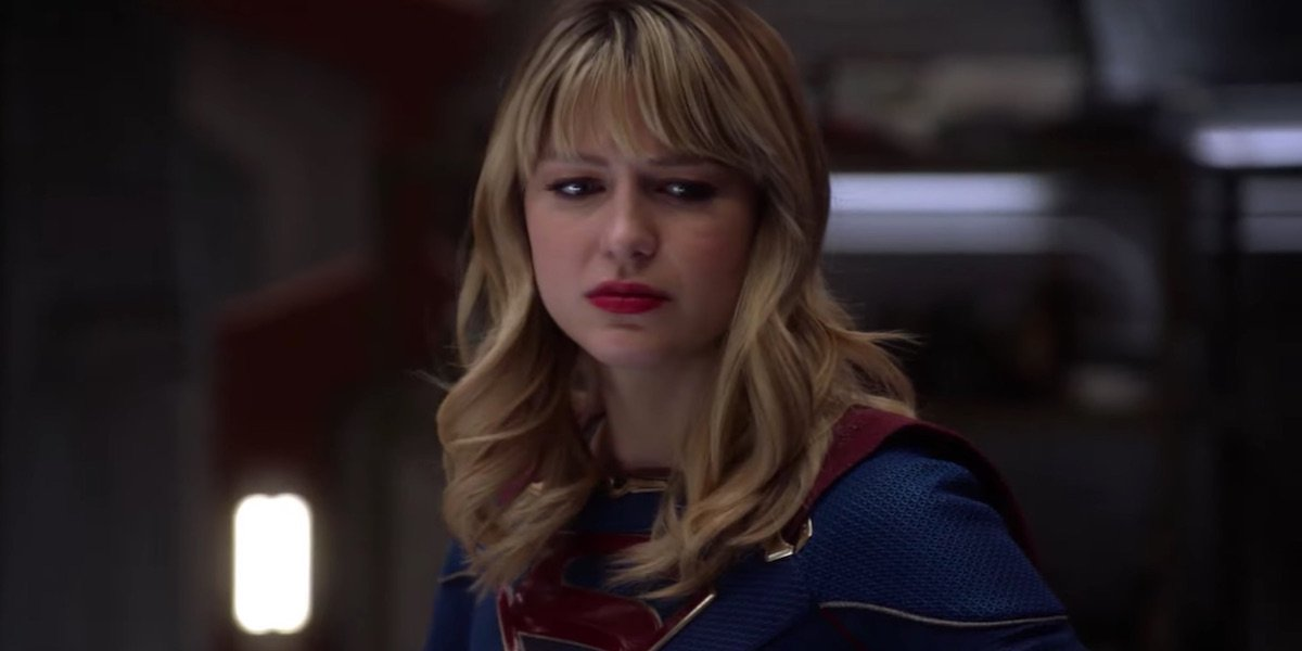 Melissa Benoist as Supergirl in Crisis on Infinite Earths