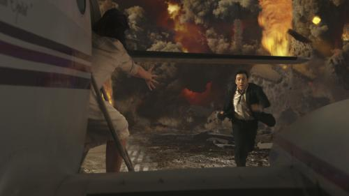 2012 - John Cusack's Jackson Curtis tries to keep a step ahead of disaster in Roland Emmerich's blockbuster movie