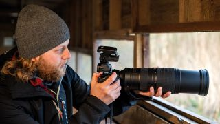 How to use the Nikon DF-M1 dot sight for bird photography