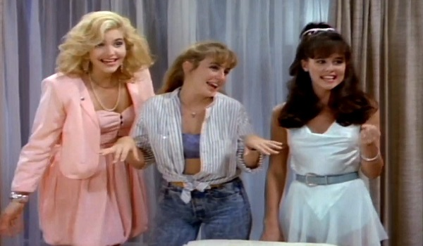 The Night Trap ladies throw a party