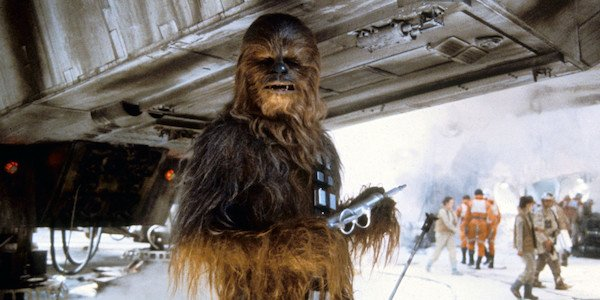 Chewbacca in Star Wars: The Empire Strikes Back
