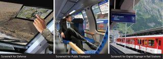 Oran Safety Glass's ScreeneX in Train Windows
