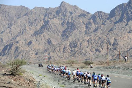 Tour of Oman 2010, stage four