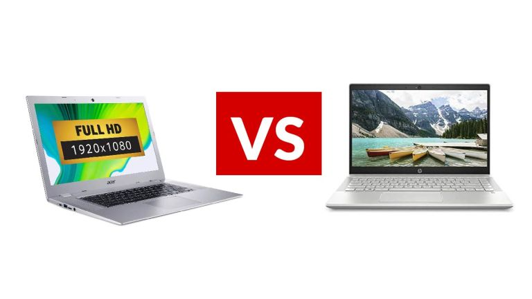 HP Pavilion 14 vs Acer Chromebook 315
