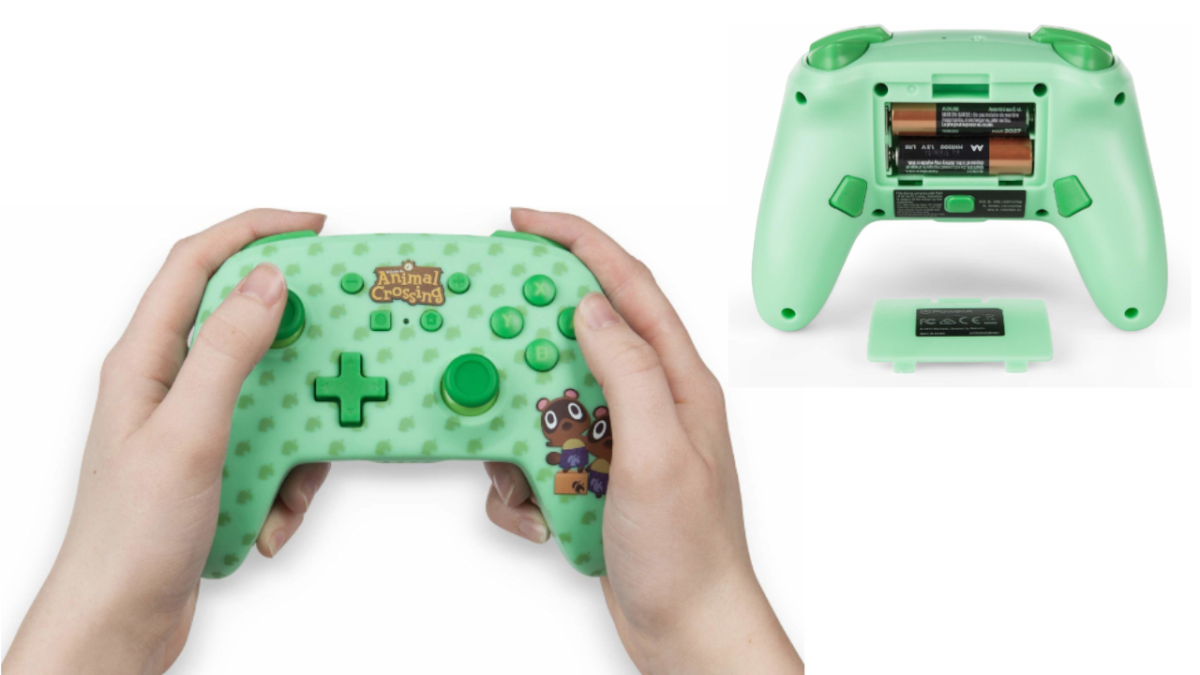 nintendo switch controller animal crossing