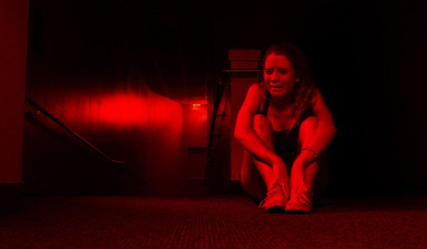 The Gallows Cassidy Gifford huddled crying in the dark
