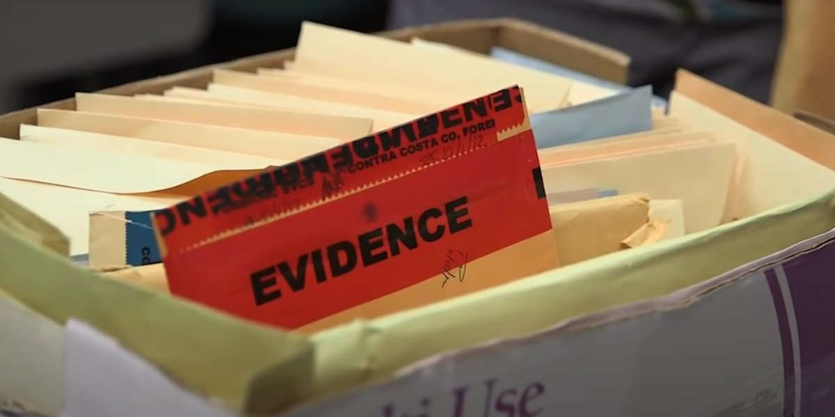 Evidence files from I'll Be Gone in the Dark