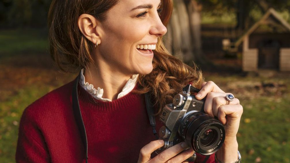 Do your kids hate you taking their photograph? Kate Middleton can relate