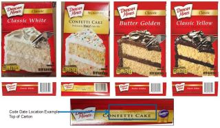 Several varieties of Duncan Hines instant cake mix are being recalled, including Classic White, Classic Butter Golden, Signature Confetti and Classic Yellow cake mixes.
