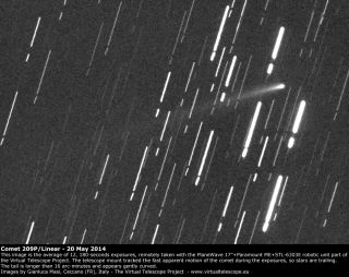 Comet 209P/LINEAR on May 20, 2014