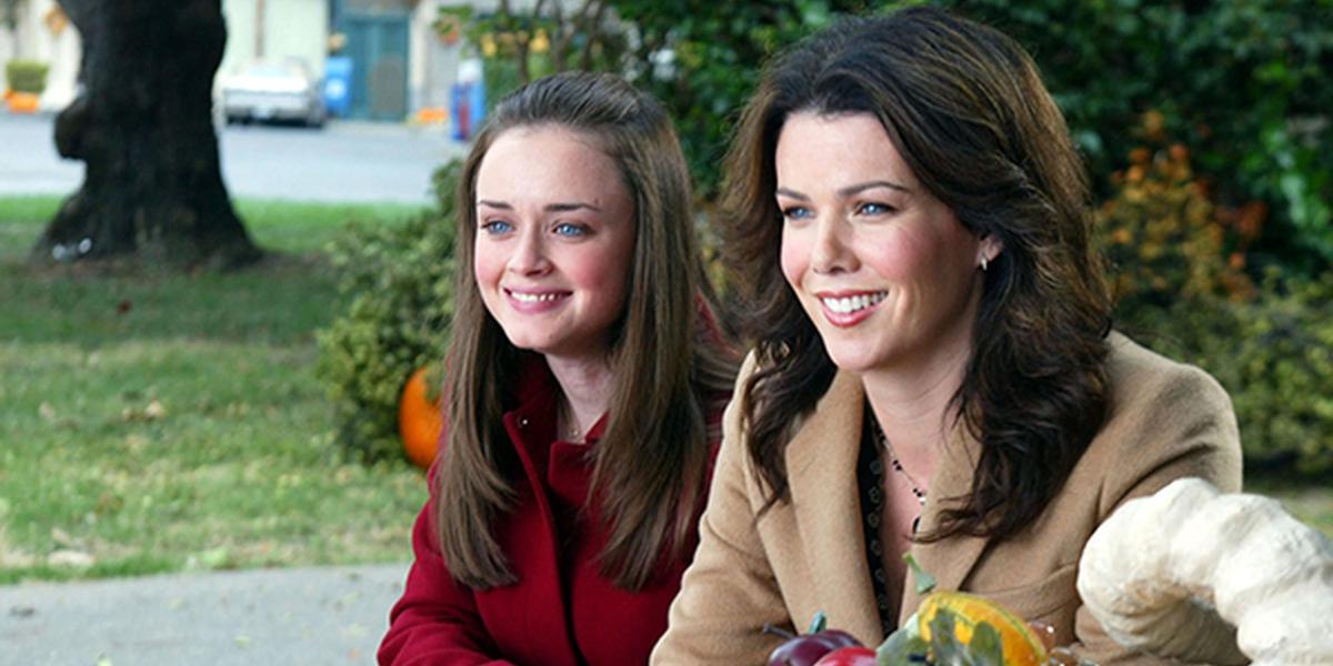 Lauren Graham Alexis Bledel in Gilmore Girls