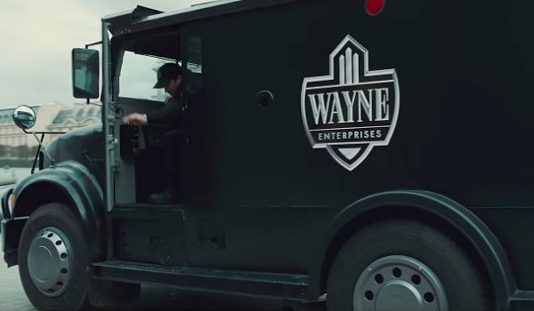 Wonder Woman Wayne Enterprises Truck