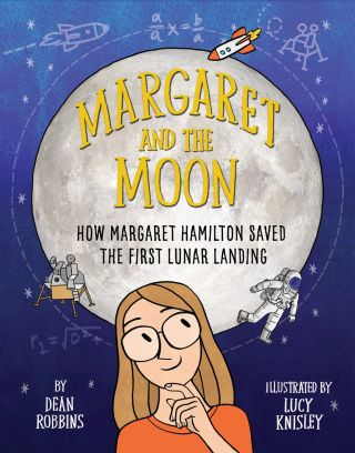 """Margaret and the Moon"" book cover"