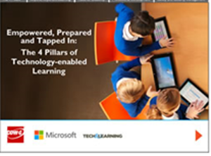 Empowered, Prepared and Tapped In: The 4 Pillars of Technology-enabled Learning