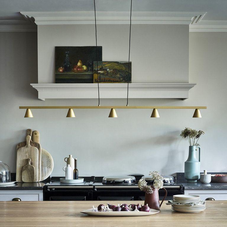 Lighting tip for kitchen islands