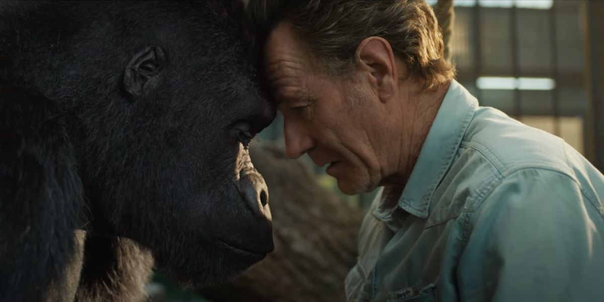 Disney+'s The One And Only Ivan Trailer Has Talking Animals And Bryan Cranston