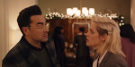 Kristen Stewart Admits She's 'So In Love' With Dan Levy After Starring In Hulu's Happiest Season