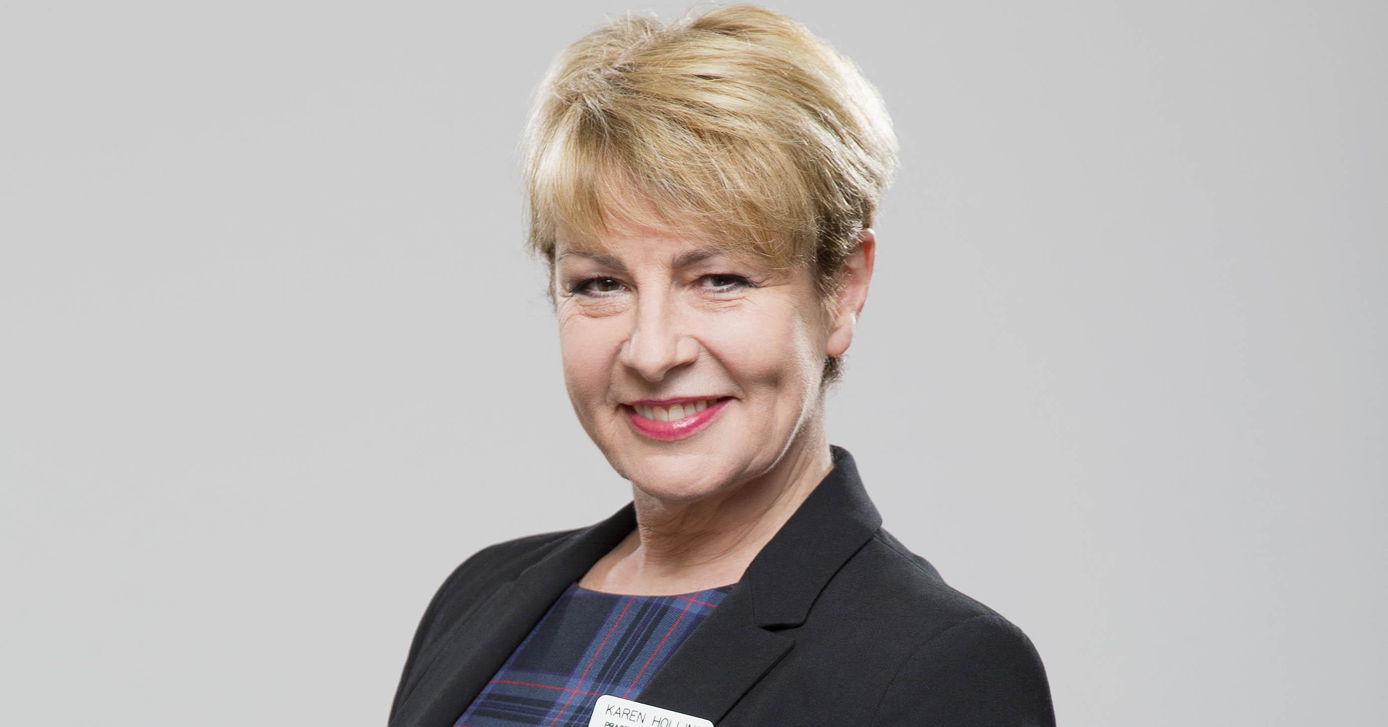 Karen Hollins in Doctors