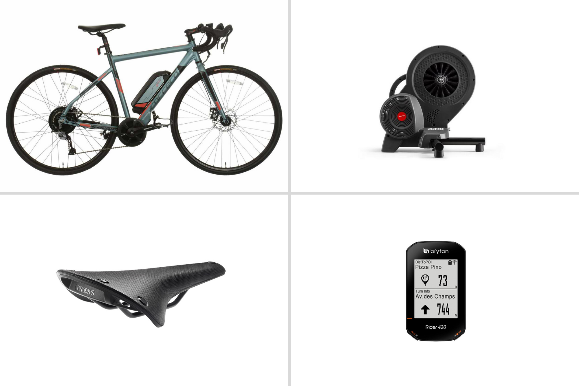 January's tech of the month: Elite Zumo turbo, Bryton cycling computer and a sub £1000 e-road bike
