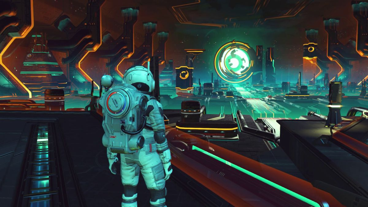 No Man's Sky Beyond will add 32 player support, powered bases, cooking, and alien milking