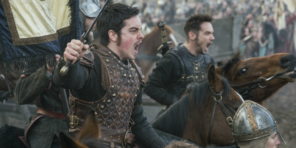 Vikings King Alfred Ferdia Walsh-Peelo Heahmund Jonathan Rhys Meyers History