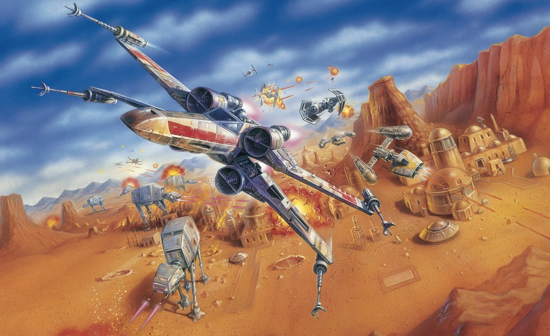 Star Wars: Rogue Squadron movie won't be based on the games but is influenced by them, director says