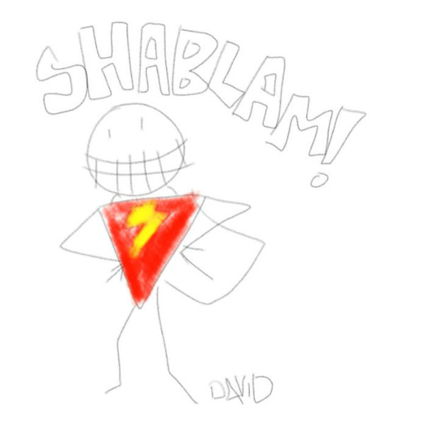 Shazam sketch David S Sandberg