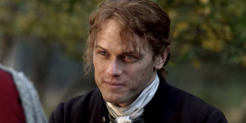 Sam Heughan Has The Best Response After Marvel's Karen Gillan Admits She's Obsessed With Outlander