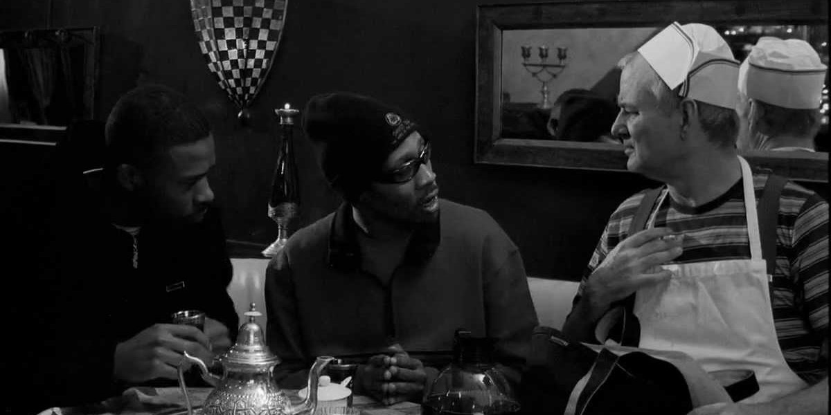 GZA, RZA, and Bill Murray in Coffee and Cigarettes