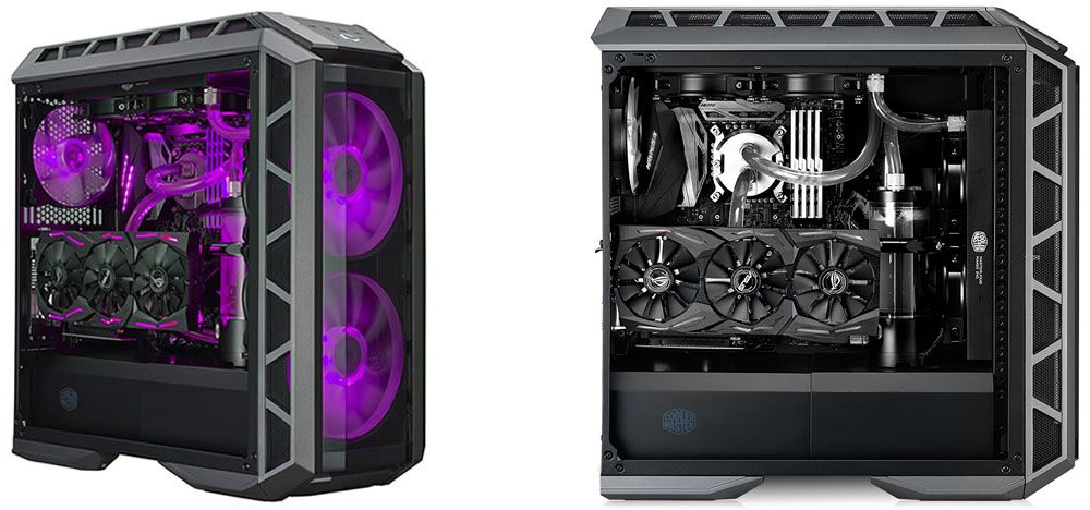 Cooler Master S Mastercase Hp500p Mid Tower Case Is All