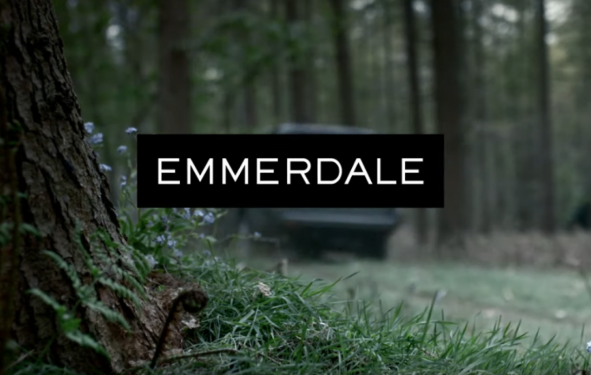 Liam Fox, estrela de Emmerdale, confusa com fã de doppelgänger no GMB 4