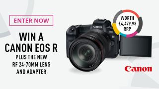 Win Canon EOS R, RF 24-70mm lens and EF adapter worth £4,479! (UK only)