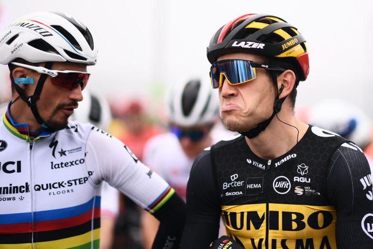 Wout van Aert at the 2021 Tour of Britain