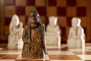 A medieval chess piece that was missing for nearly two centuries was recently found and is going up for auction on July 2nd.
