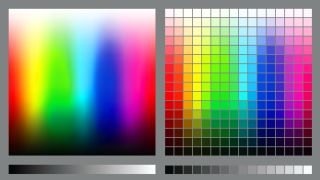 colour swatch in Photoshop
