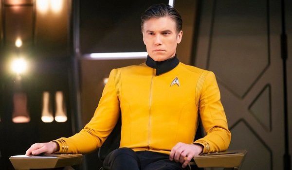 Captain Christopher Pike Anson Mount Star Trek: Discovery
