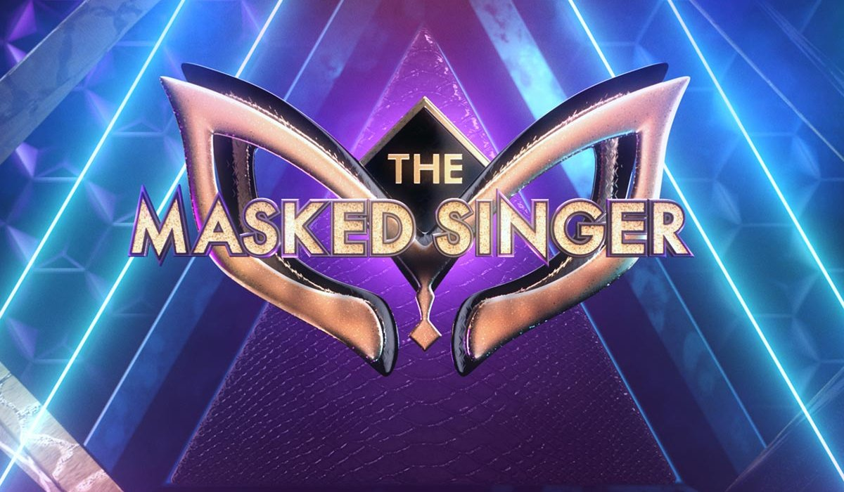The Masked Singer a brightly colored logo