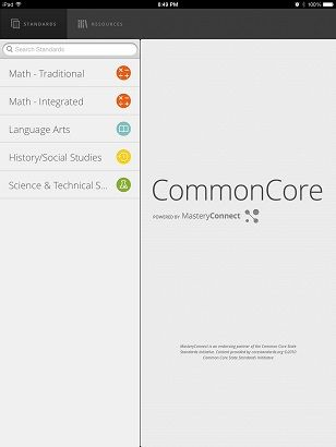 Free App Provides Educators Access to Common Core State Standards