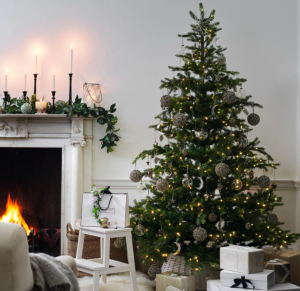 The White Company Pre-Lit Grand Spruce Christmas Tree