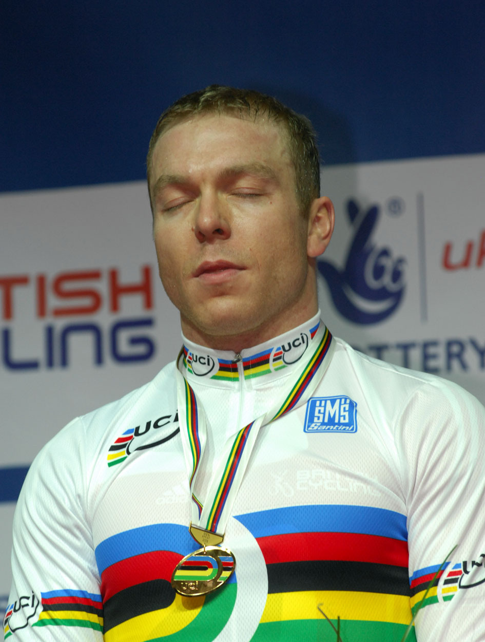 Chris Hoy world sprint champion