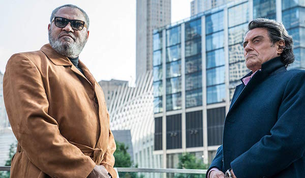 Laurence Fishburne and Ian McShane in John Wick: Chapter 3 - Parabellum