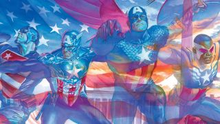 cover of The United States of Captain America #1 by Alex Ross