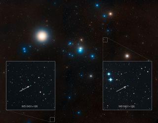 Region Around Hyades Star Cluster