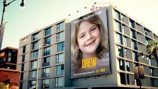 Advertisement for CBS Television Distribution's 'The Drew Barrymore Show'