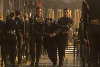 Capt. Gabriel Lorca in Star Trek: Discovery Episode 12