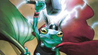 cover of Thor #18 by Olivier Coipel