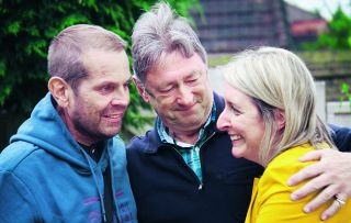 In tonight's edition of the garden makeover series, Alan Titchmarsh and the team battle through some of the worst rain they've ever experienced to transform a neglected garden