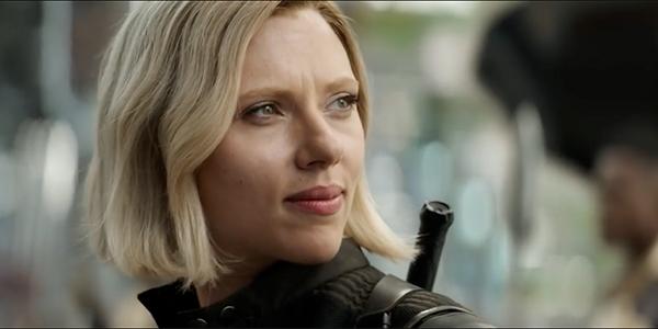Scarleett Johannson Avengers: Infinity War