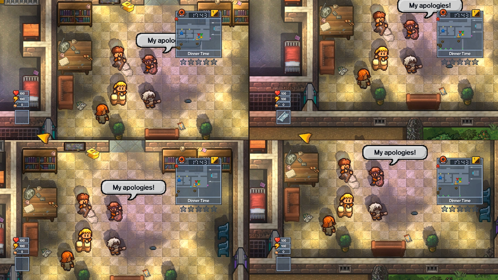The Escapists 2 showcases its outer space-set U S S Anomaly prison