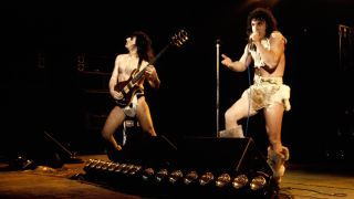 Photo of MANOWAR live in the 1980s